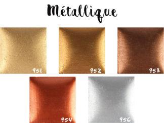 Kit acrylique métallique