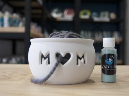 Bol à tricoter MOM